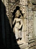 Asisbiz D Banteay Kdei Temple main enclosure Bas relief devas 37