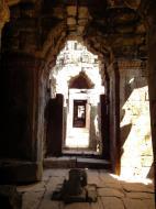 Asisbiz D Banteay Kdei Temple main enclosure inner passageways 03