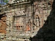 Asisbiz D Banteay Kdei Temple sanctuary outer wall Bas reliefs 02