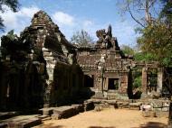 Asisbiz E Banteay Kdei Temple Gopura III W Bayon style 03