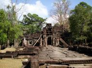 Asisbiz E Banteay Kdei Temple Gopura III W Bayon style 10