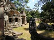 Asisbiz E Banteay Kdei Temple Gopura III W Bayon style 14
