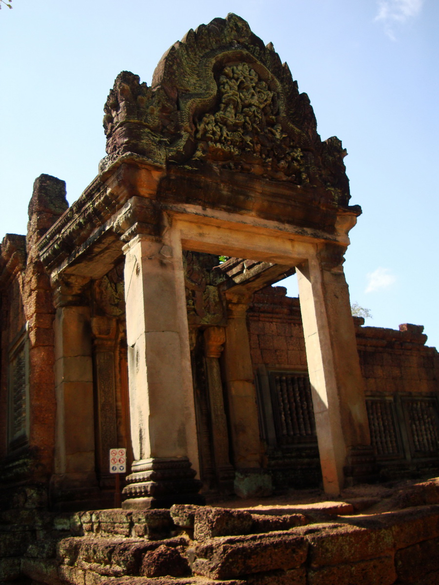 Banteay Samre Temple main gates East Baray 07