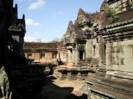 Asisbiz Banteay Samre Temple main sanctuary libraries East Baray 11