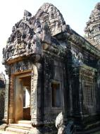Asisbiz Banteay Samre Temple main sanctuary libraries East Baray 13
