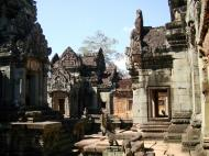 Asisbiz Banteay Samre Temple main sanctuary libraries East Baray 15