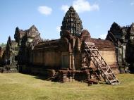 Asisbiz Banteay Samre Temple main sanctuary libraries East Baray 23