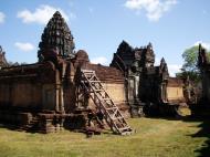 Asisbiz Banteay Samre Temple main sanctuary libraries East Baray 26