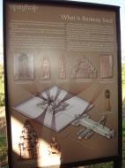 Asisbiz A history notice board about Banteay Srei Temple Jan 2010 02