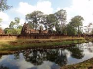 Asisbiz Banteay Srei 10th century Khmer architecture Tribhuvanamahesvara 01