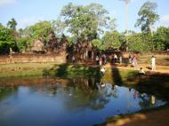 Asisbiz Banteay Srei 10th century Khmer architecture Tribhuvanamahesvara 05