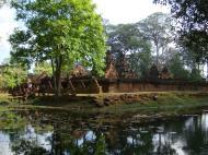 Asisbiz Banteay Srei 10th century Khmer architecture Tribhuvanamahesvara 09