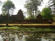 Asisbiz Banteay Srei 10th century Khmer architecture Tribhuvanamahesvara 15