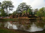 Asisbiz Banteay Srei 10th century Khmer architecture Tribhuvanamahesvara 18