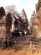 Asisbiz Banteay Srei 10th century architecture inner sanctuary area 01