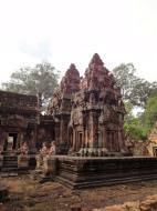Asisbiz Banteay Srei 10th century architecture inner sanctuary area 03