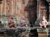 Asisbiz Banteay Srei 10th century architecture inner sanctuary area 05