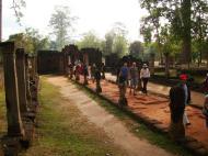 Asisbiz Banteay Srei Hindu Temple boundary entrance courseway 04