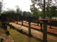 Asisbiz Banteay Srei Hindu Temple boundary entrance courseway 05