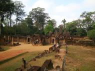 Asisbiz Banteay Srei Hindu Temple boundary entrance courseway 08