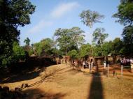 Asisbiz Banteay Srei Hindu Temple boundary entrance courseway 10