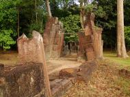 Asisbiz Banteay Srei Hindu Temple outer ruins Jan 2010 01