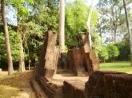 Asisbiz Banteay Srei Hindu Temple outer ruins Jan 2010 02