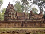 Asisbiz Banteay Srei Temple 10th century architecture laterite walls 02