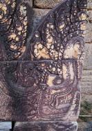 Asisbiz Banteay Srei Temple closeups of the innately carved sandstone arches 06