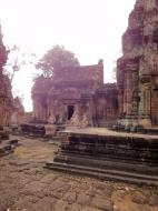 Asisbiz Banteay Srei Temple innately carved sandstone libraries 03