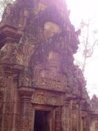 Asisbiz Banteay Srei Temple innately carved sandstone libraries 04