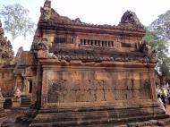 Asisbiz Banteay Srei Temple innately carved sandstone libraries 05