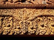 Asisbiz Banteay Srei western gopura depicting combat between Vali and Sugreeva 02