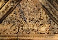 Asisbiz Gate arch carving of Kala a mythical creature of the god Siva 04