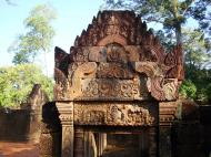 Asisbiz Gate arch carving of Kala a mythical creature of the god Siva 11