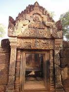 Asisbiz Gate arch carving of Kala a mythical creature of the god Siva 13