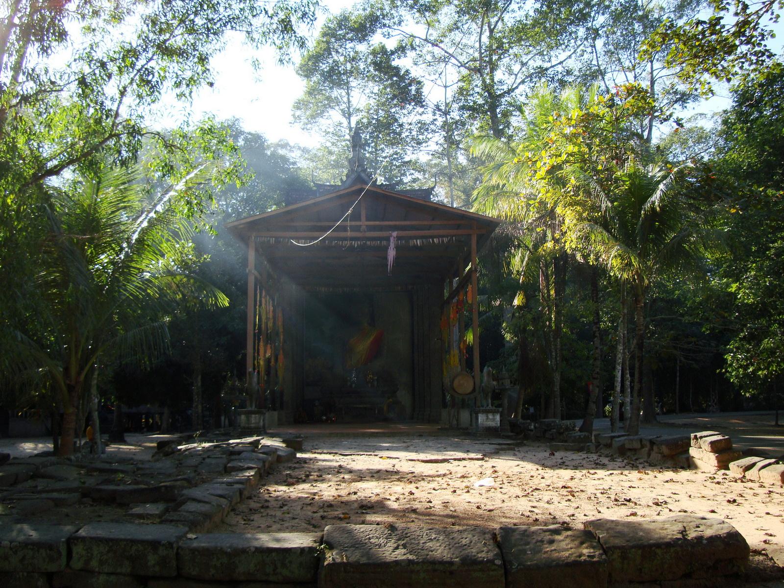 Bayon Temple neighboring Buddhist monastery Angkor Siem Reap 02