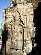 Asisbiz Bayon Temple Bas relief devatas Angkor 02