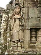 Asisbiz Bayon Temple Bas relief devatas Angkor 04