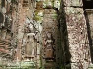 Asisbiz Bayon Temple Bas relief devatas Angkor 07