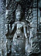 Asisbiz Bayon Temple Bas relief devatas Angkor 09