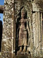 Asisbiz Bayon Temple Bas relief devatas Angkor 12