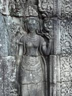 Asisbiz Bayon Temple Bas relief devatas Angkor 14