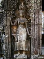 Asisbiz Bayon Temple Bas relief devatas Angkor 15