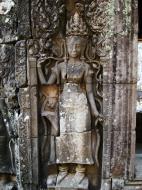 Asisbiz Bayon Temple Bas relief devatas Angkor 16