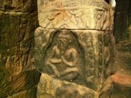 Asisbiz Bayon Temple Bas relief hermits in prayer Angkor 02