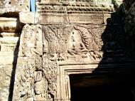 Asisbiz Bayon Temple Bas relief hermits in prayer Angkor 04