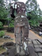 Asisbiz Bayon Temple east entrance gopura headless guardian Angkor 01