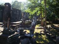 Asisbiz Bayon Temple east entrance gopura headless guardian Angkor 03