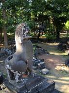 Asisbiz Bayon Temple east entrance gopura lion guardian Angkor 01